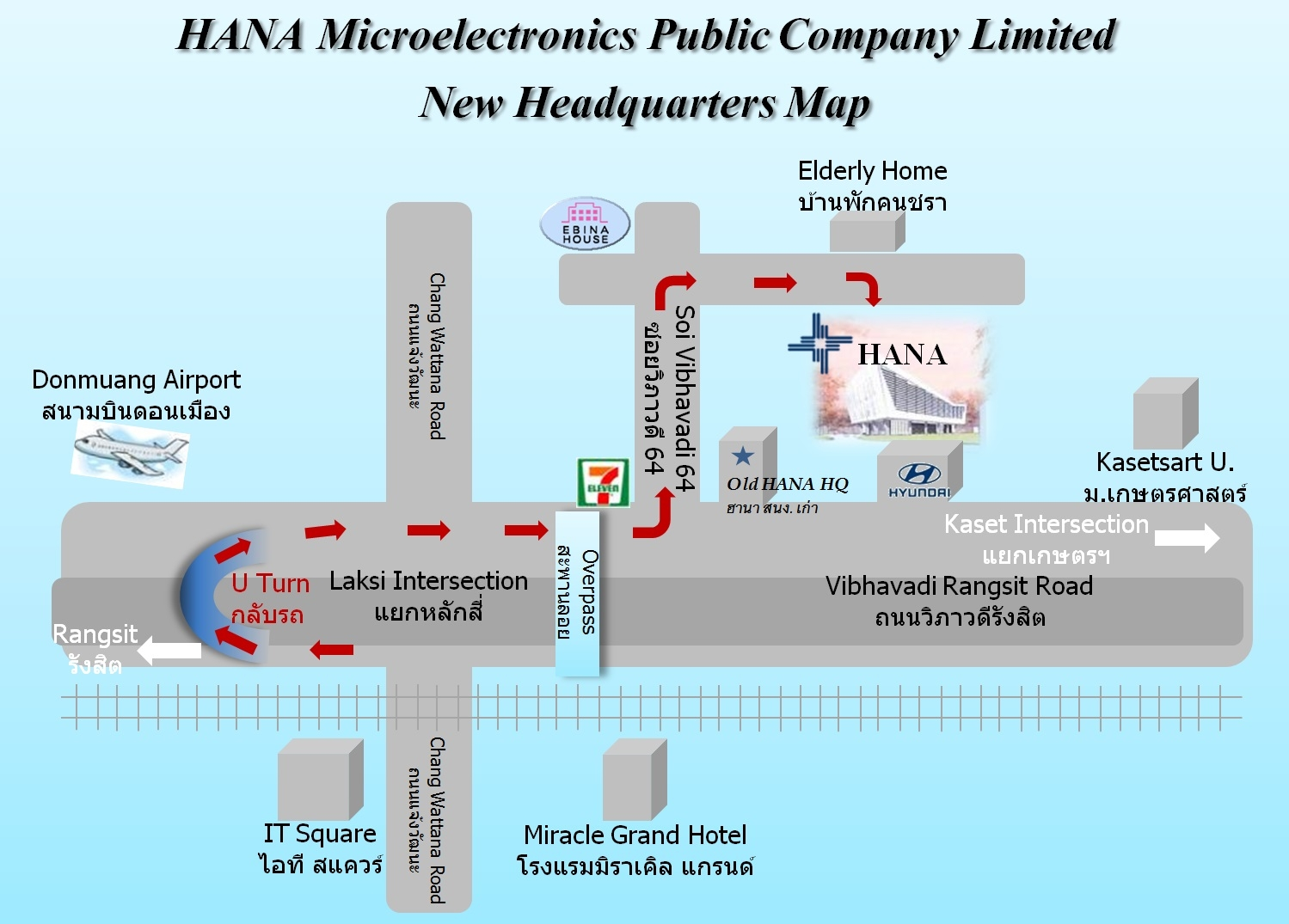 Hana Microelectronics Group Content Management